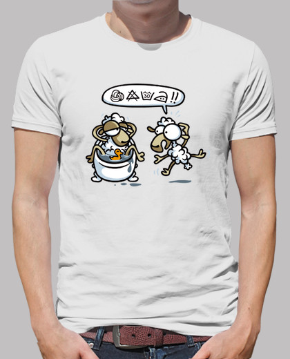 Tee shirts homme attention! 17.90
