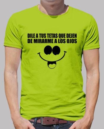 Tee shirts homme dire à vos seins d'arrêter de me regarder à 19.90