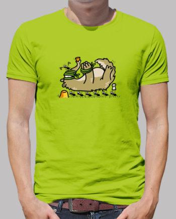 Tee shirts homme ours fourmis grillées 18.50