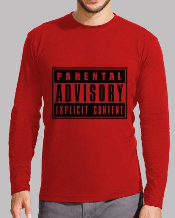 Tee shirts homme parental advisory: contenu explicite 18.90