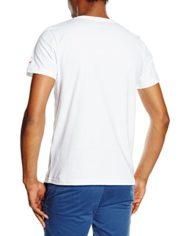 Armor-Lux-73773-T-shirt-Uni-Manches-courtes-Homme-Blanc-Blanc-Voile-Armor-Medium-Taille-fabricant-M-0-0