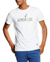 Armor-Lux-73773-T-shirt-Uni-Manches-courtes-Homme-Blanc-Blanc-Voile-Armor-Medium-Taille-fabricant-M-0