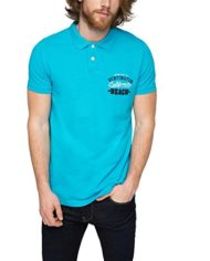 ESPRIT-046EE2K049-Jersey-Regular-Fit-Polo-Homme-Bleu-Blau-Turquoise-470-X-Large-0