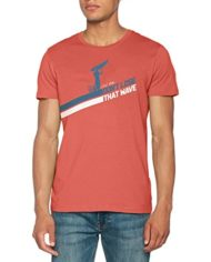 ESPRIT-057ee2k025-T-Shirt-Homme-Rouge-Coral-Red-Large-0
