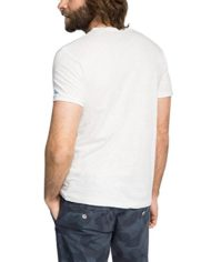 ESPRIT-mit-Print-Slim-Fit-T-Shirt-Homme-Blanc-WHITE-100-X-Large-Taille-fabricant-X-Large-0-0
