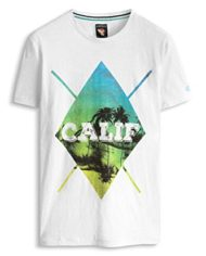 ESPRIT-mit-Print-Slim-Fit-T-Shirt-Homme-Blanc-WHITE-100-X-Large-Taille-fabricant-X-Large-0-1