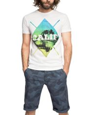 ESPRIT-mit-Print-Slim-Fit-T-Shirt-Homme-Blanc-WHITE-100-X-Large-Taille-fabricant-X-Large-0