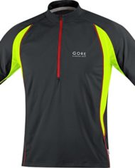 Gore-Running-Wear-Air-Maillot-zippe-Homme-BlackNeon-Yellow-FR-S-Taille-Fabricant-S-0