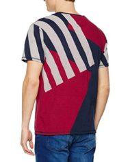 Hilfiger-Denim-Thdm-Mesh-Cn-Knit-SS-33-T-Shirt-Homme-Bleu-Black-Iris-X-Large-0-0