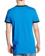 Jack-Jones-T-Shirt-Manches-Courtes-Homme-Bleu-Large-0-0