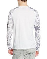 Kaporal-Toner-T-shirt-Col-ras-du-cou-Manches-longues-Homme-Blanc-White-Medium-Taille-fabricant-M-0-0