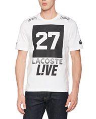 Lacoste-LVE-T-shirt-Homme-Multicolore-BlancNoir-X-Large-Taille-Fabricant-6-0