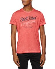 Pepe-Jeans-Gemini-3-T-Shirt-Homme-Rouge-Terracota-XX-Large-Taille-Fabricant-XXL-0