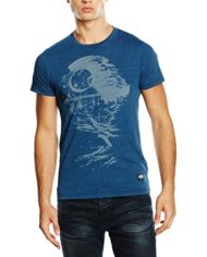 Pepe-Jeans-STAR-WARS-Dead-Star-T-Shirt-Homme-Bleu-Indigo-Large-Taille-Fabricant-L-0