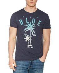 edc-by-ESPRIT-047cc2k012-T-Shirt-Homme-Bleu-Navy-X-Large-0