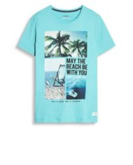 edc-by-ESPRIT-057cc2k019-T-Shirt-Homme-Vert-Aqua-Green-Large-0-1
