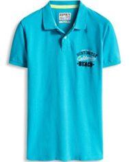 ESPRIT-046EE2K049-Jersey-Regular-Fit-Polo-Homme-Bleu-Blau-Turquoise-470-X-Large-0-1