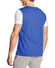 Le-Coq-Sportif-T-Shirt-Manches-Courtes-Homme-Bleu-Small-0-0